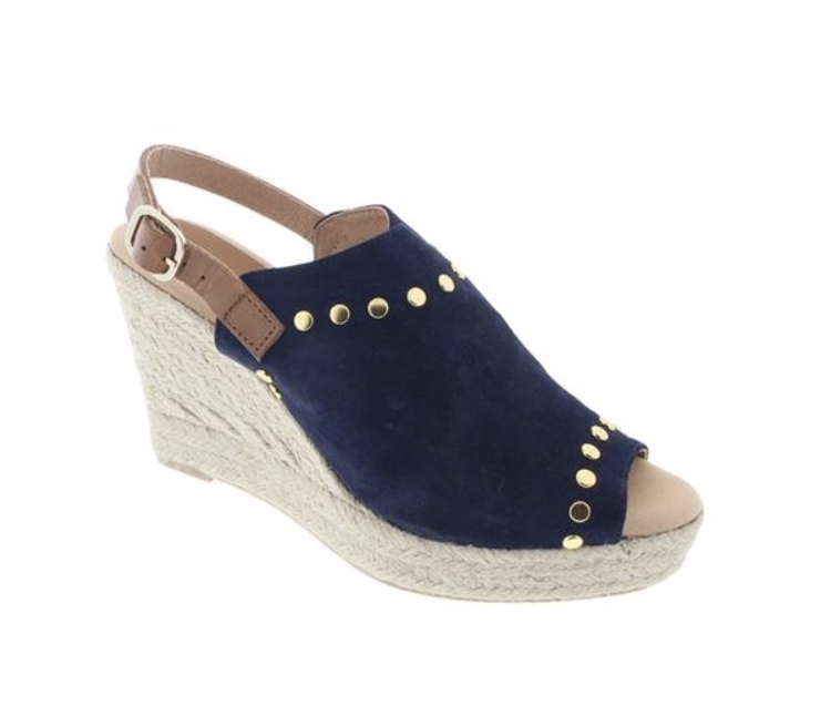 Navy Rock Star Espadrilles