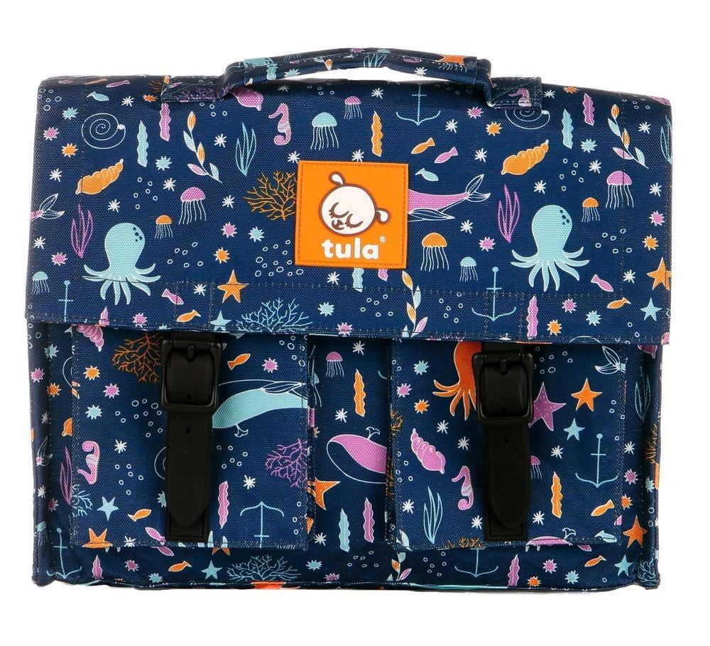 Tula Kid's Backpack in Deep Ocean Print