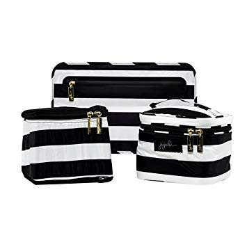 Ju-Ju-Be Be Equipped Set in black and white striped