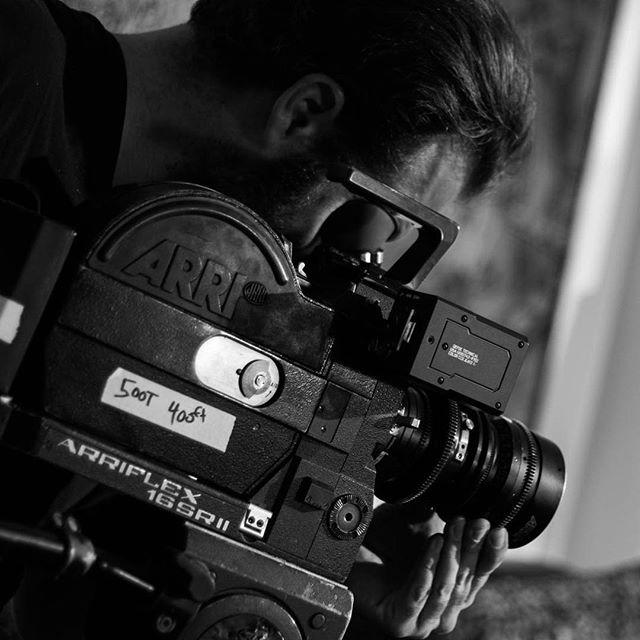 My favorite set up. #sr2 #super16 #arri11to110 #500t #director #motionpicture #kodak #belmonthotel