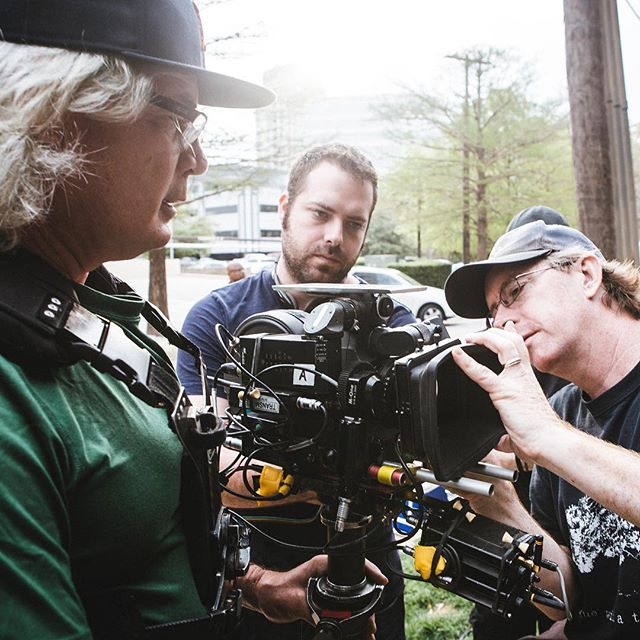 The waiting is the hardest part. #sr3 #steadicam #dp #cinematography #ac #betweentakes #kodak #500t #director