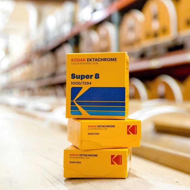 It's back!!!! #EktaChromeisBack #Kodak #EktaChrome #ShootOnFilm #Super8 #Repost #Regram