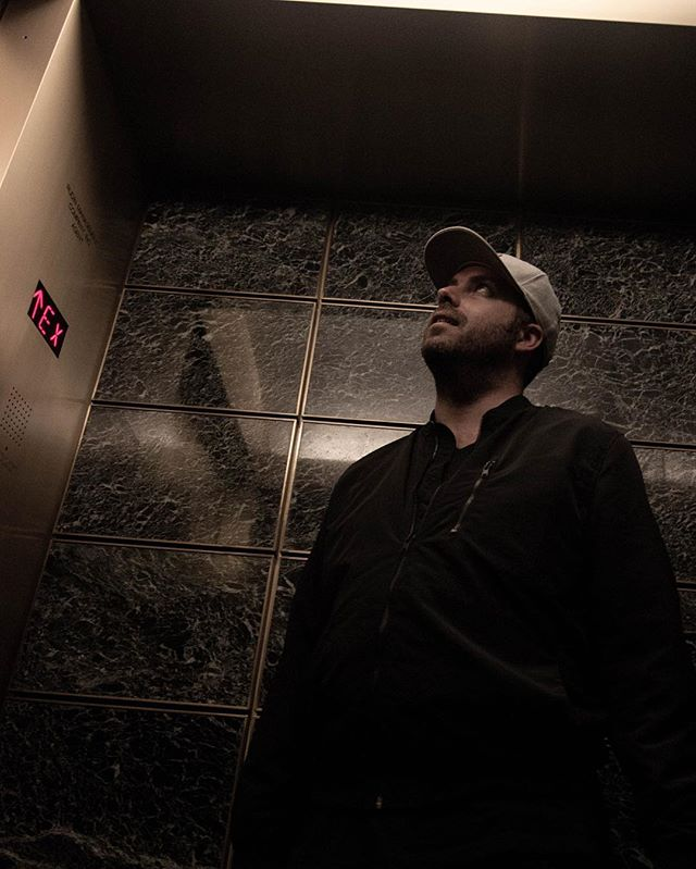 Picture of me in an elevator with an obvious caption like, Things are Looking Up 🔥