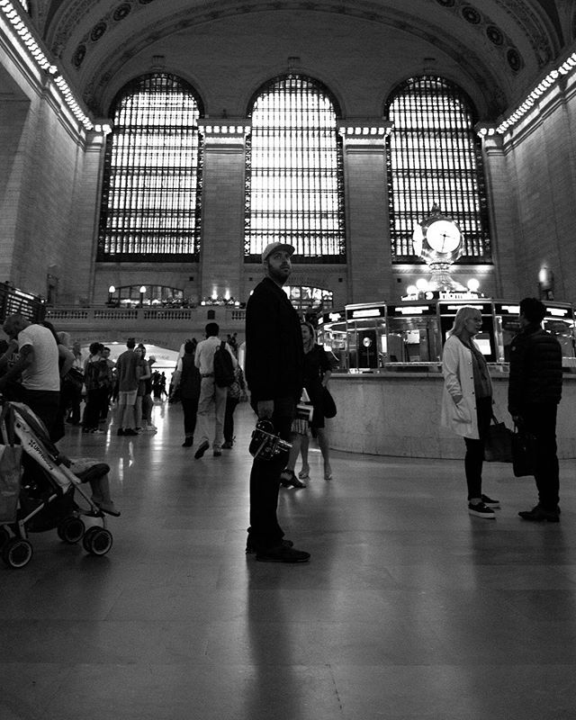 Grand Central.  #nyc #grandcentralstation #newyork #bwphoto #blackandwhite
