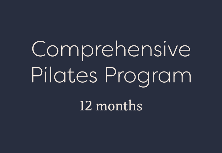 Comprehensive Pilates Program
