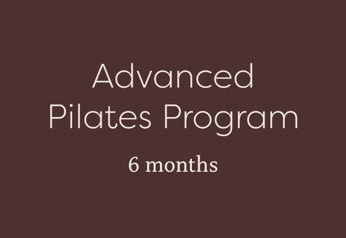 Advanced Pilates Program