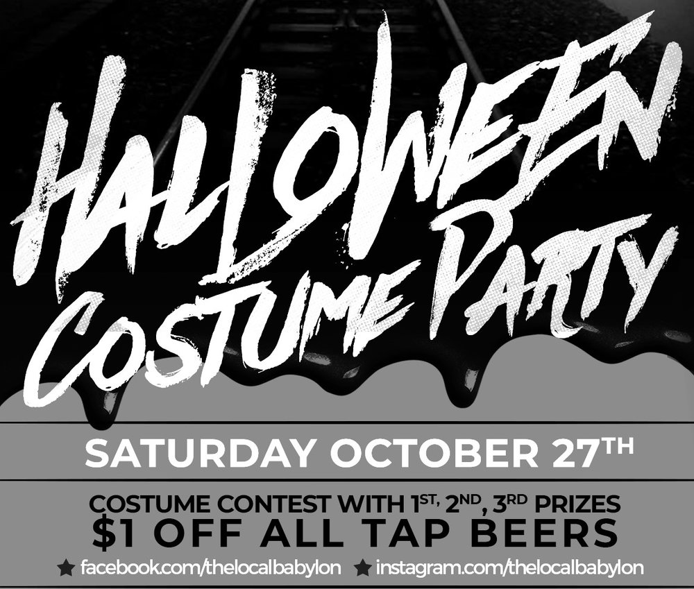 local's halloween party — the local | babylon village, ny
