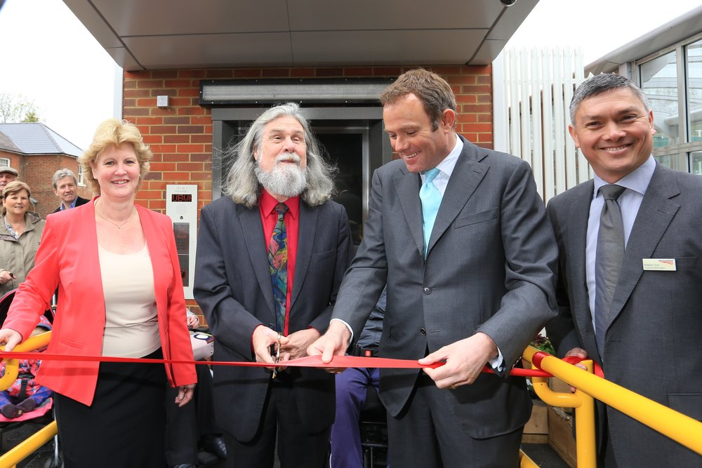 140502 Hassocks lifts opening.jpg