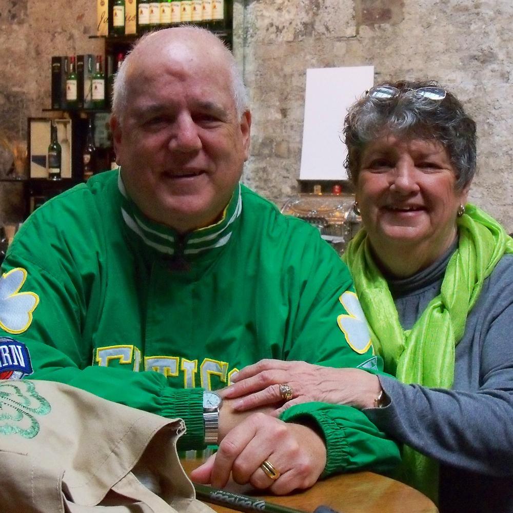 Jim and his wife, Linda.