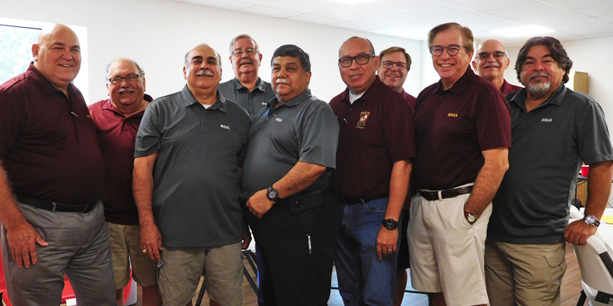 Members of the PKTAAA.