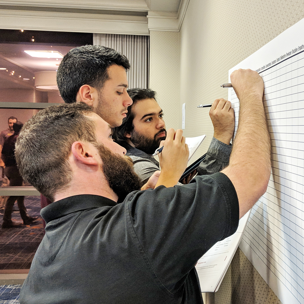 Brothers working together at the Austin, TX BBLA this past November.