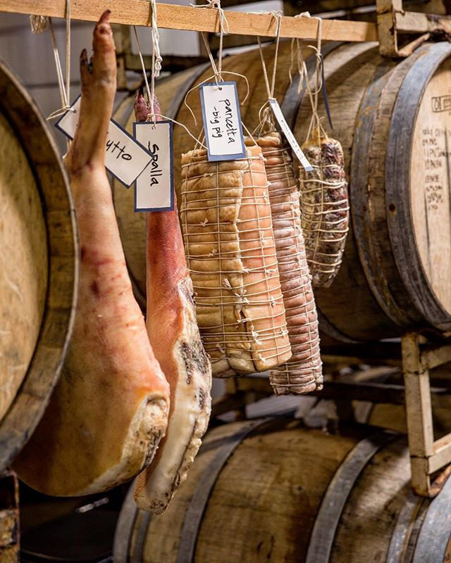 Preserving meat is a topic in one of the workshops at Maialata. ✨✨ (So is eating it with wine!) 🍷 Tickets on sale now through our website: Maialatapdx.com. 📲