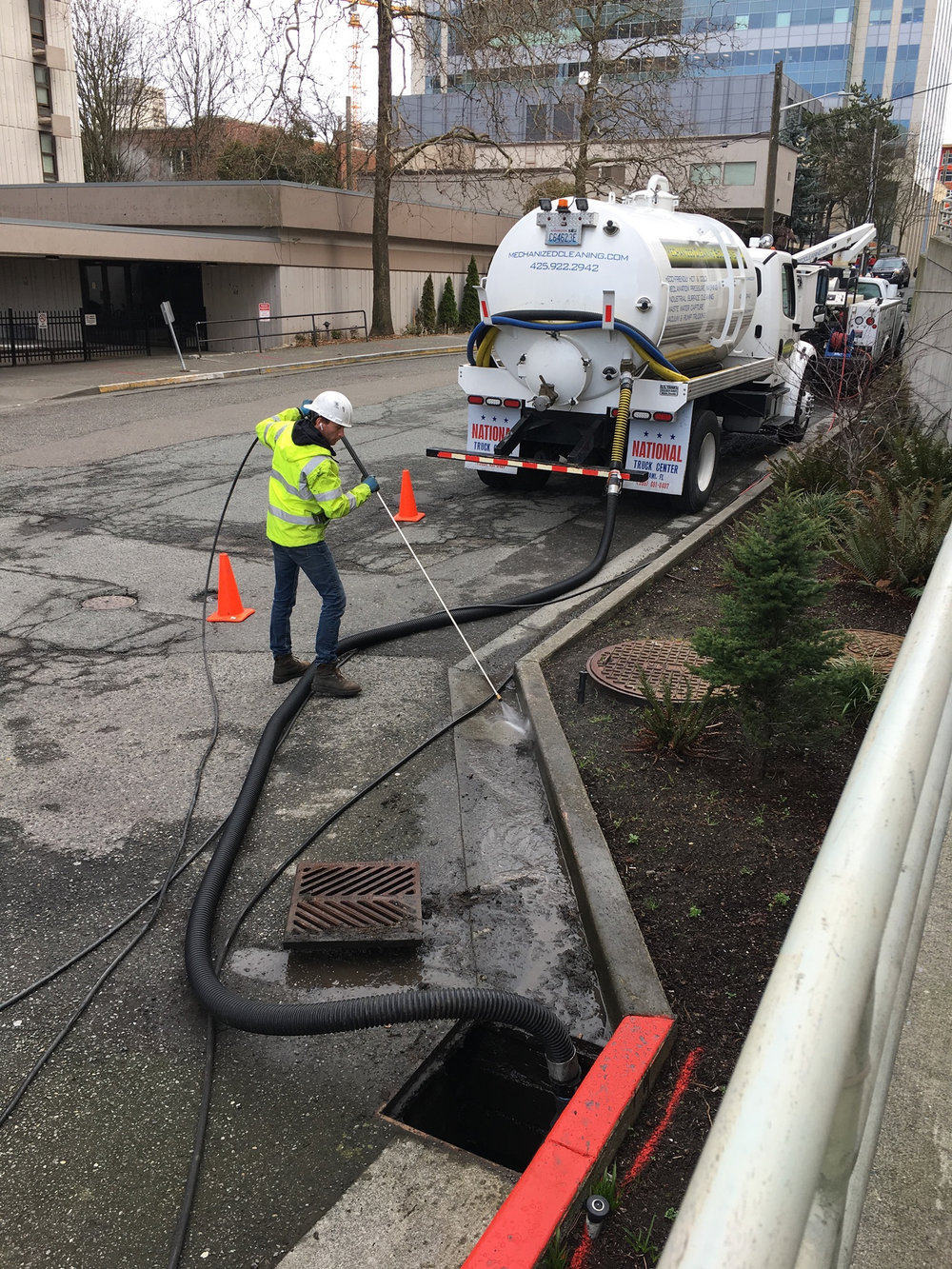 Storm Drain Catch Basin Cleaning Services Mechanized Cleaning