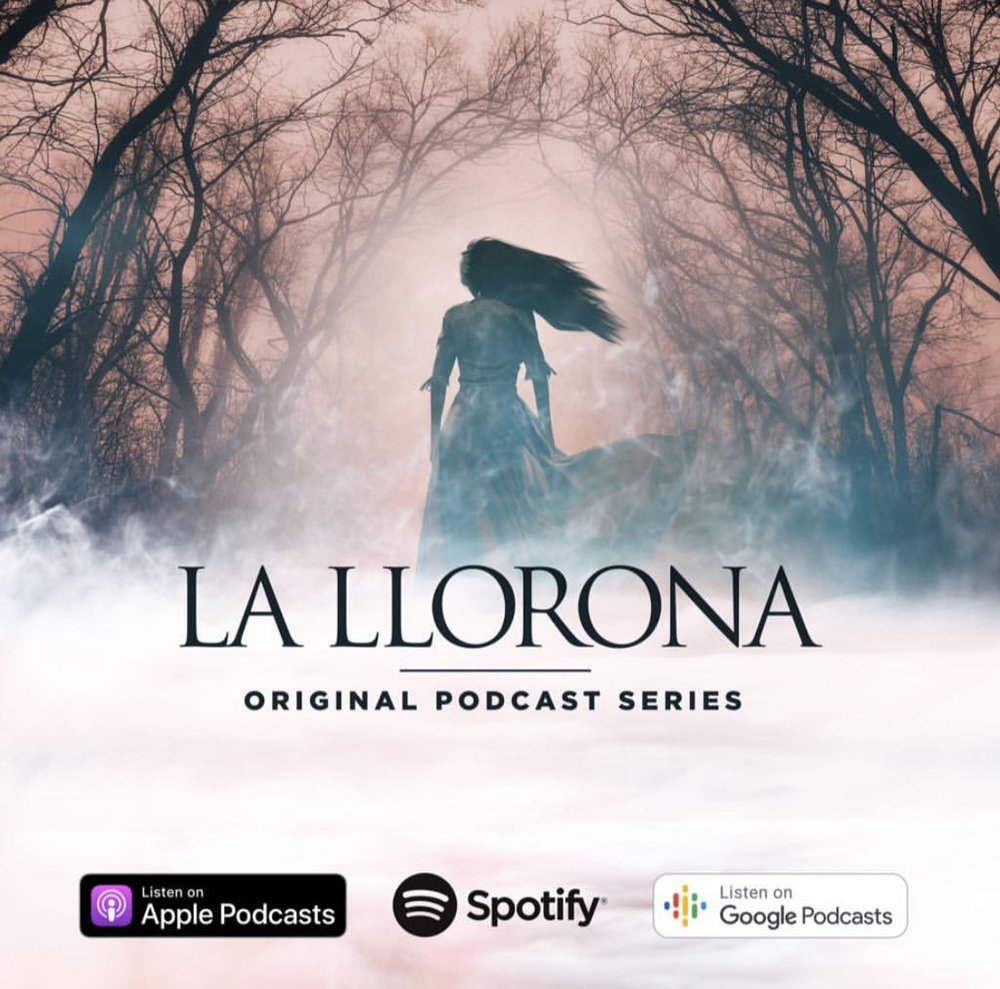 Sheli is featured on a Warner Bros Pictures promotional podcast! - Playing the role of Michelle Blanco on the limited Podcast series based on the WB Pictures film La Llorona produced by Univision Audio - April 4, 2019