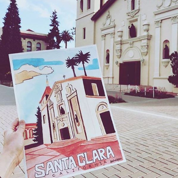 Photo Taken From  Santa Clara University's Instagram