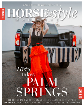 Horse & Style Magazine - Summer 2018 Issue 39: July Giveaway Contest Partner@horseandstylemag
