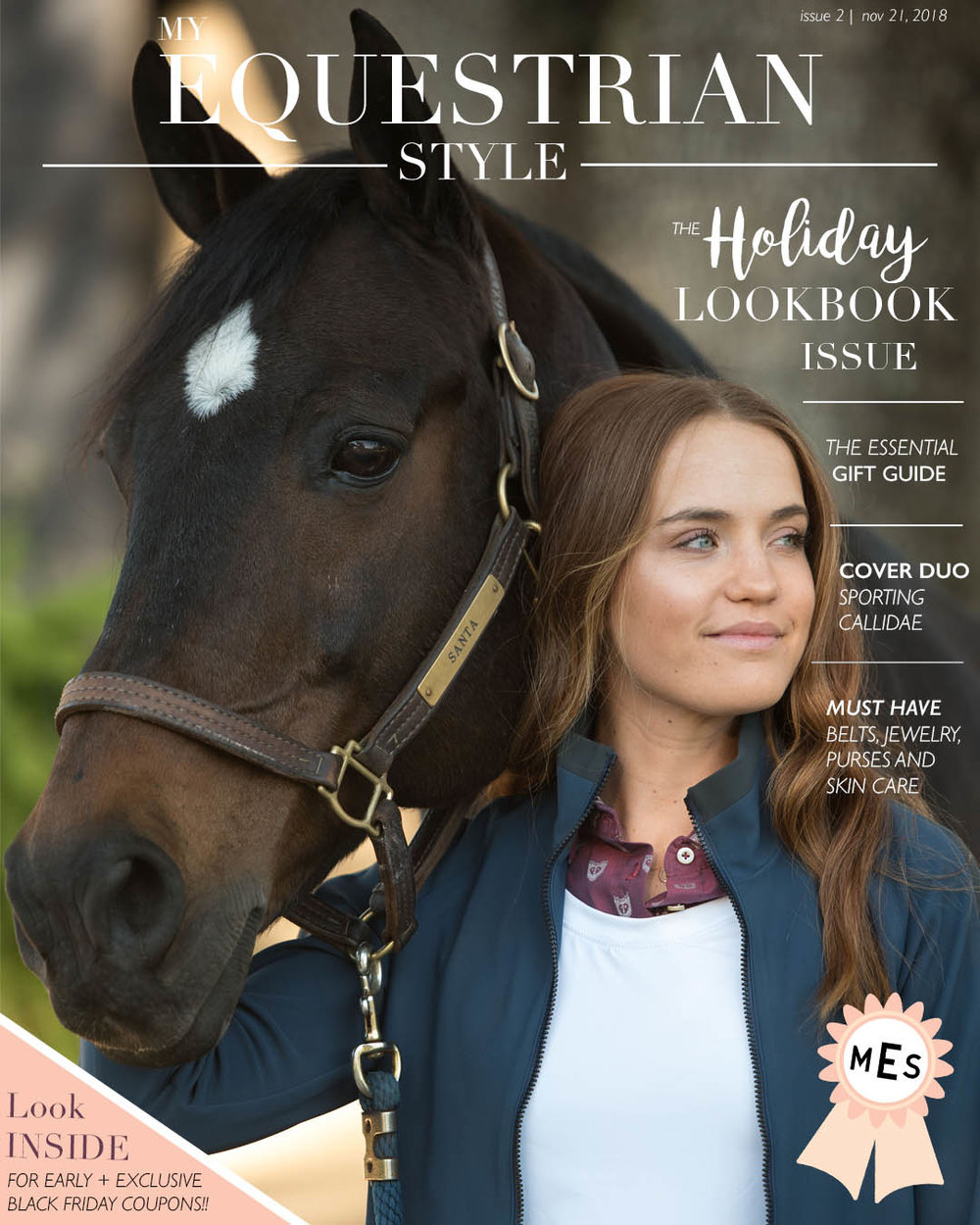 My Equestrian Style - The Holiday Lookbook Issue@myequestrianstyle