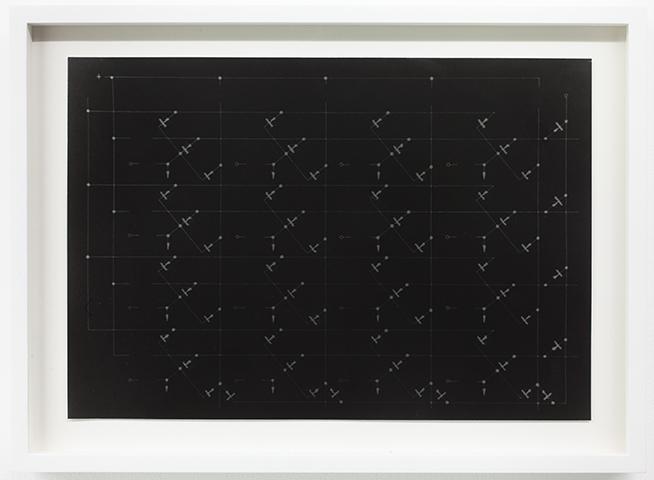 """Levitation 3 - Les Etoiles – Exhale Exalt Archival Pigment Print/ Archival pigment print, wood frame, wood frame 17 1/4"""" x 12 3/4"""", 2012 / Edition 1 of 3"""