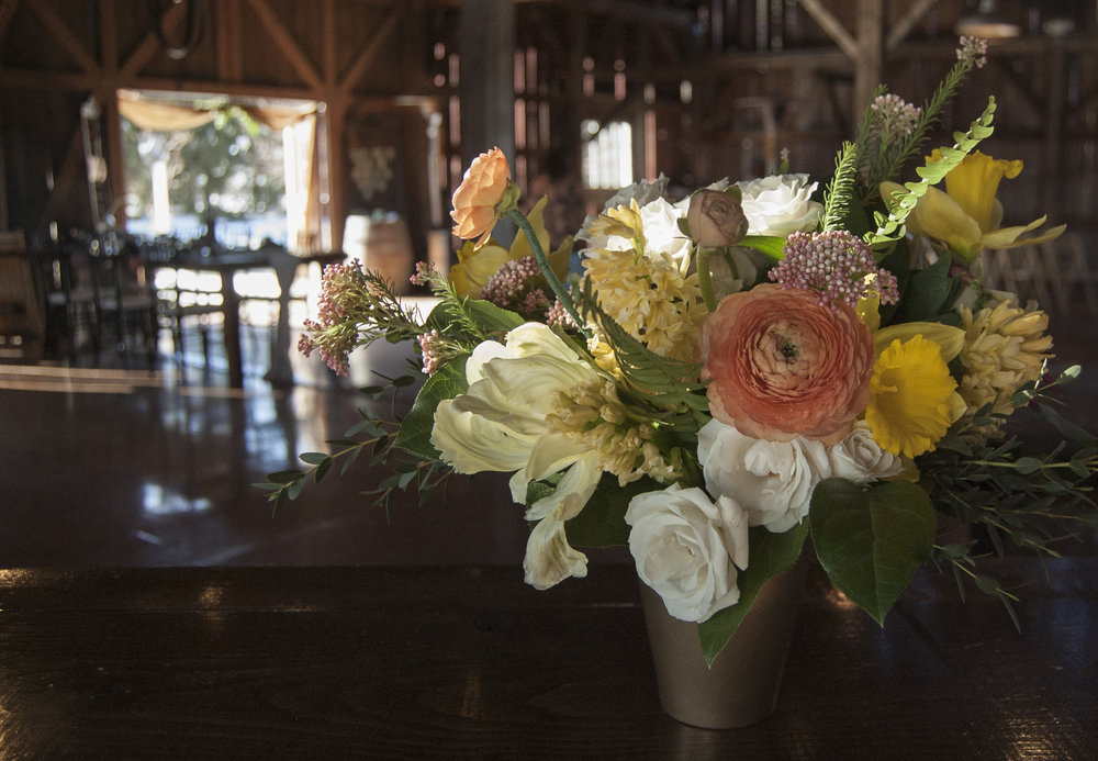 intentional & collaborative florals - for all your wedding and celebration needswe focus on flowers but offer a range of servicesfrom custom linens to music and master of ceremony.scroll down to learn more about all we offer