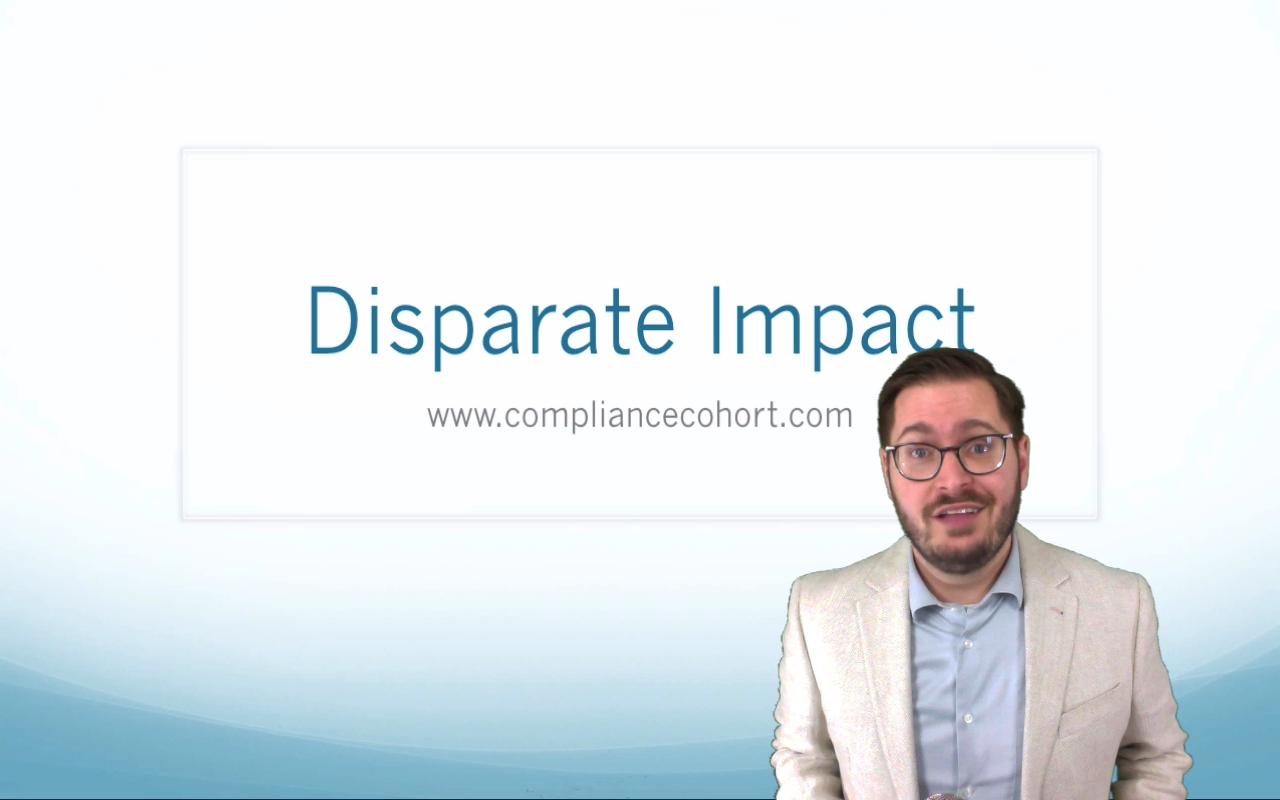 Disparate Impact – Legal definition of disparate impact: