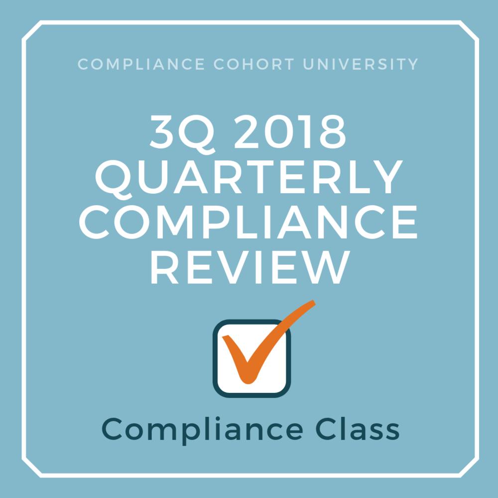 3Q2018 Regulatory Compliance Review.png
