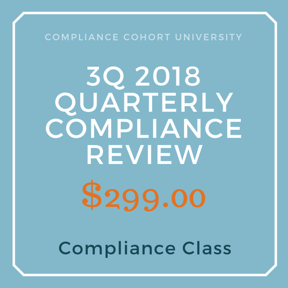 3Q2018 Regulatory Compliance Review $299.png
