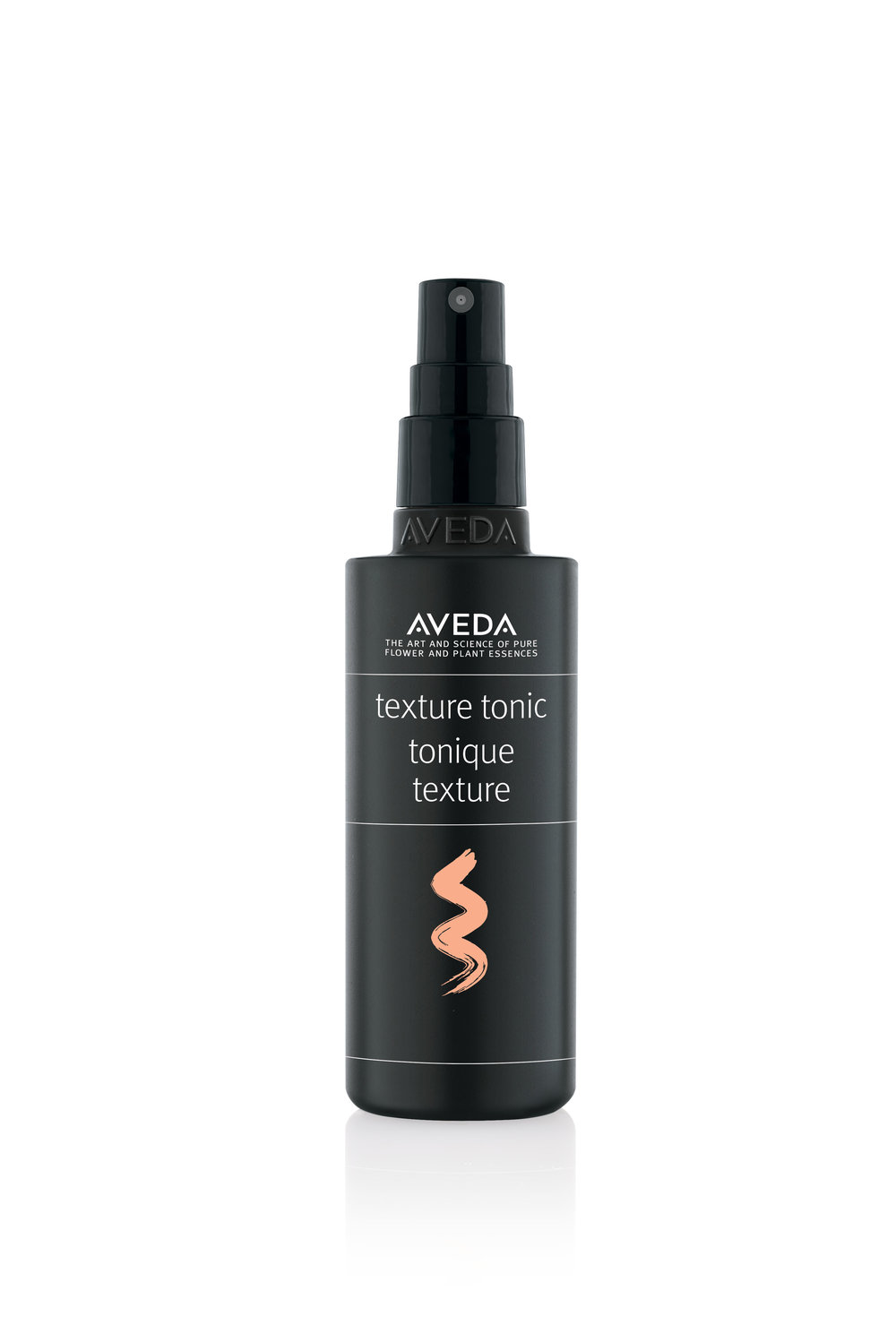1. Prepare the Hair - Spray Aveda Texture Tonic throughout dry haie, and then blow dry to create better hold/grip.