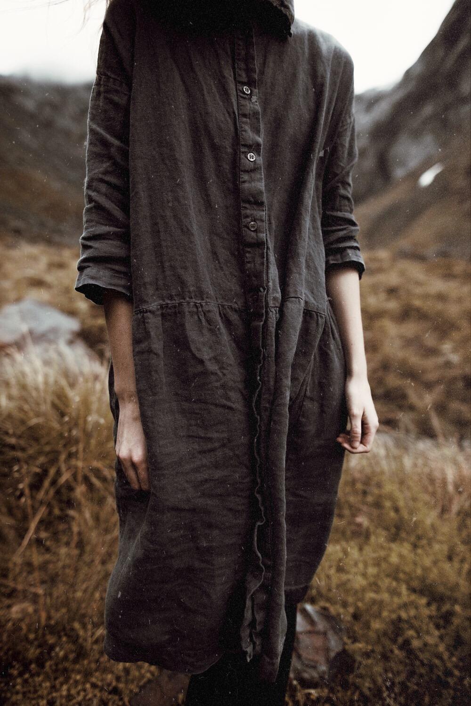 Soft oversize linen -