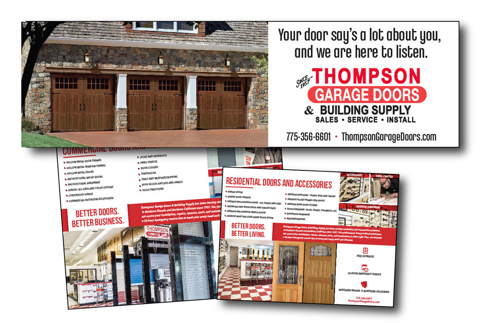 Thompson Garage Doors: Outdoor, Brochure