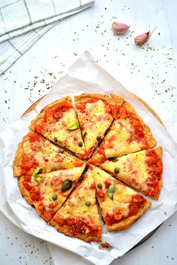 Katie Lee Cauliflower Crust Pizza