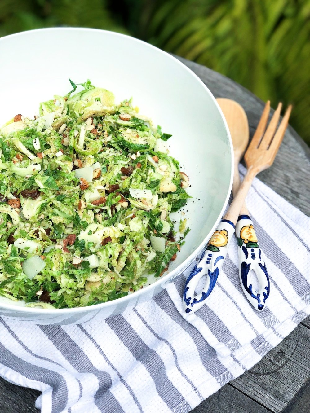 Katie Lee Brussels Sprouts Salad - Thanksgiving