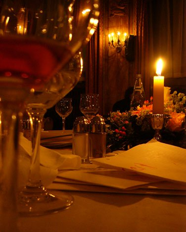4. Flickering Ambience - Everyone looks beautiful bathed in candlelight. For a few dollars, you can buy a big bag of votives at the drugstore.