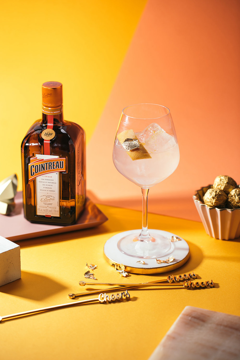 This recipe  is from  Cointreau's Awards Night  collection.
