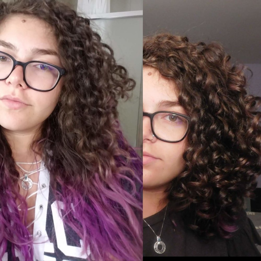 All I had to do was cut out harsh sulfates, silicones, deep condition, and cut off damaged ends to get the hair of my dreams! Now I style my hair with loads of conditioner in the shower, some left in, then a firm hold gel. I used to style with many products every wash day, but now I keep it very simple. Before learning about curly hair I had never used gel and now I know it is the best for me! I have never been happier with my hair then I am now. I'm so grateful for all the things I have learned from curly hair bloggers on Instagram and Youtube as well as the Curly Girl Handbook.