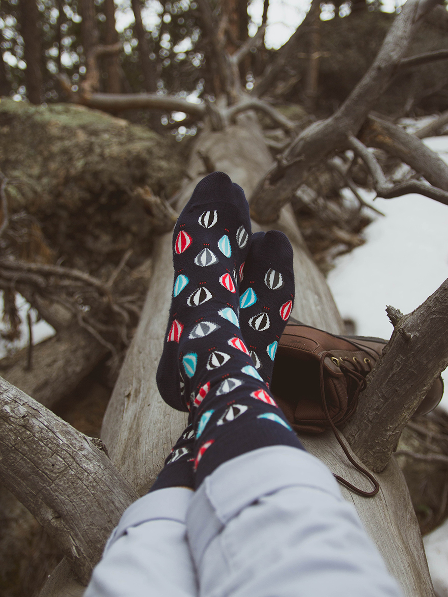 hot air balloon happy socks