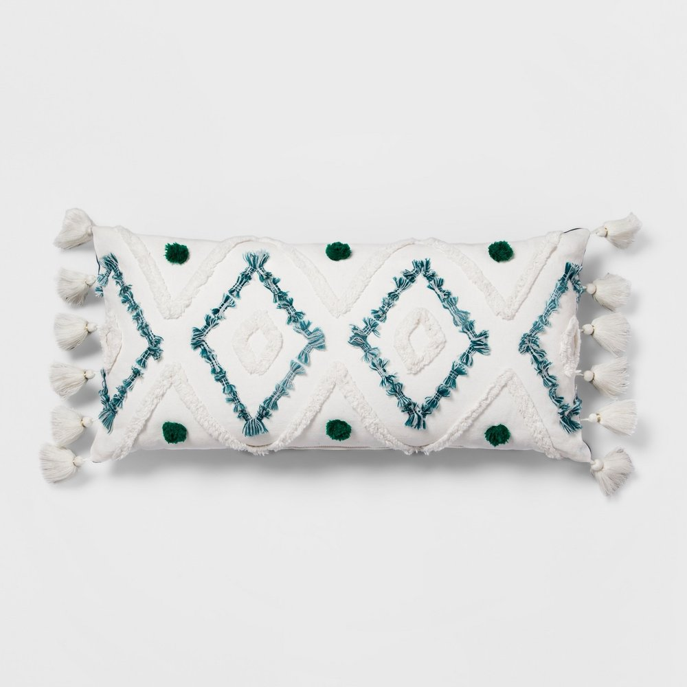 Target - Diamond Tufted Lumbar Pillow - Opalhouse™
