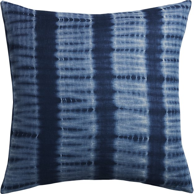 CB2 - Indigo Blue Tie Dye Pillow