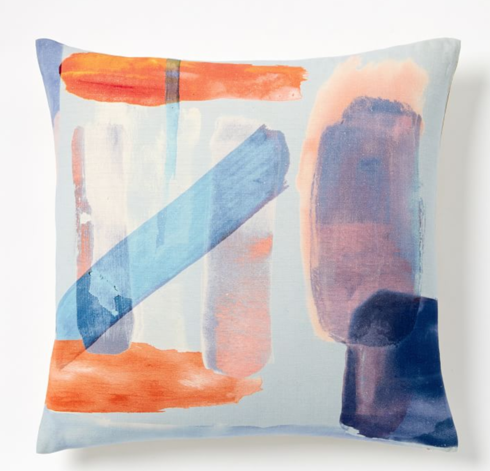 West Elm - Silk Watercolor Pillow Covers