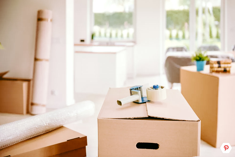 7 tips for a stress free move - FEATURING michelle from together organizing