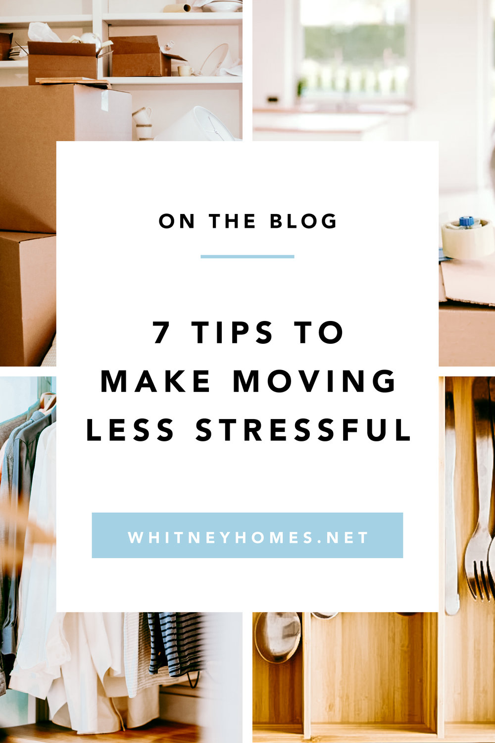 7 steps to a stress free move