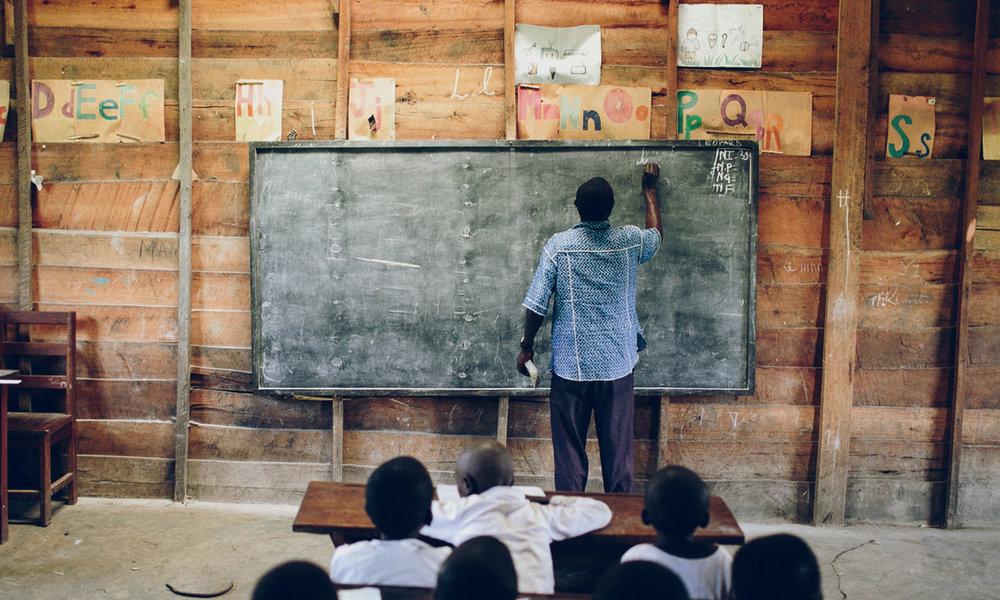 Teacher training and development -
