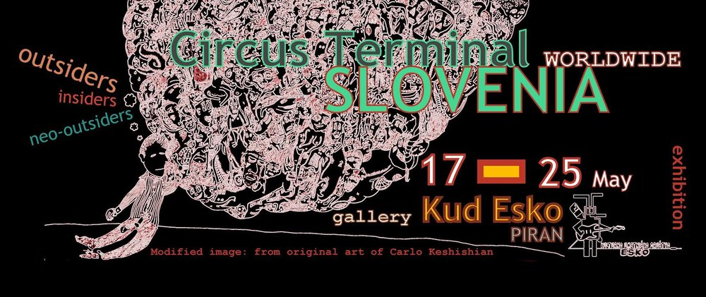 - Group exhibition in Slovenia