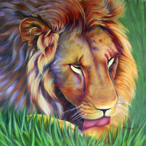 Elixir of Lion  copyright Sarah Soward.