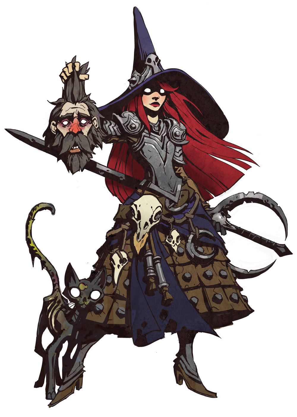CONJURER FAQ - Q: Can I occupy the same space as my Ghost Knights? Do my ghost knights hurt my teammates?A: Yes the Conjurer can stand on Ghost Knights, and so can her teammates. They do not cause team damage, and do not disappear. Q: If the Conjurer dies, do the Ghost Knights die too?A: Yes.