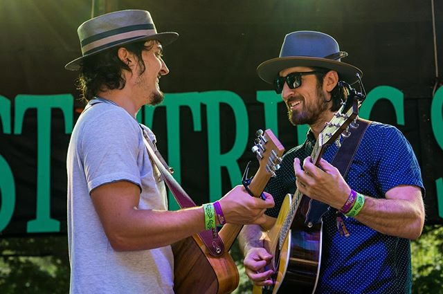 We had a great time at @stringsummit. Our set is available to watch on our Facebook page thanks to the wonderful folks at @pastemagazine @daytrotter and @jamgrasstv 📷 Bradley Cook . . . . . #thetalbottbrothers #talbottbrothers #americana #rock #stringsummit #festival #northplains #horningshideout #oregon #pnw #daytrotter #pastemagazine