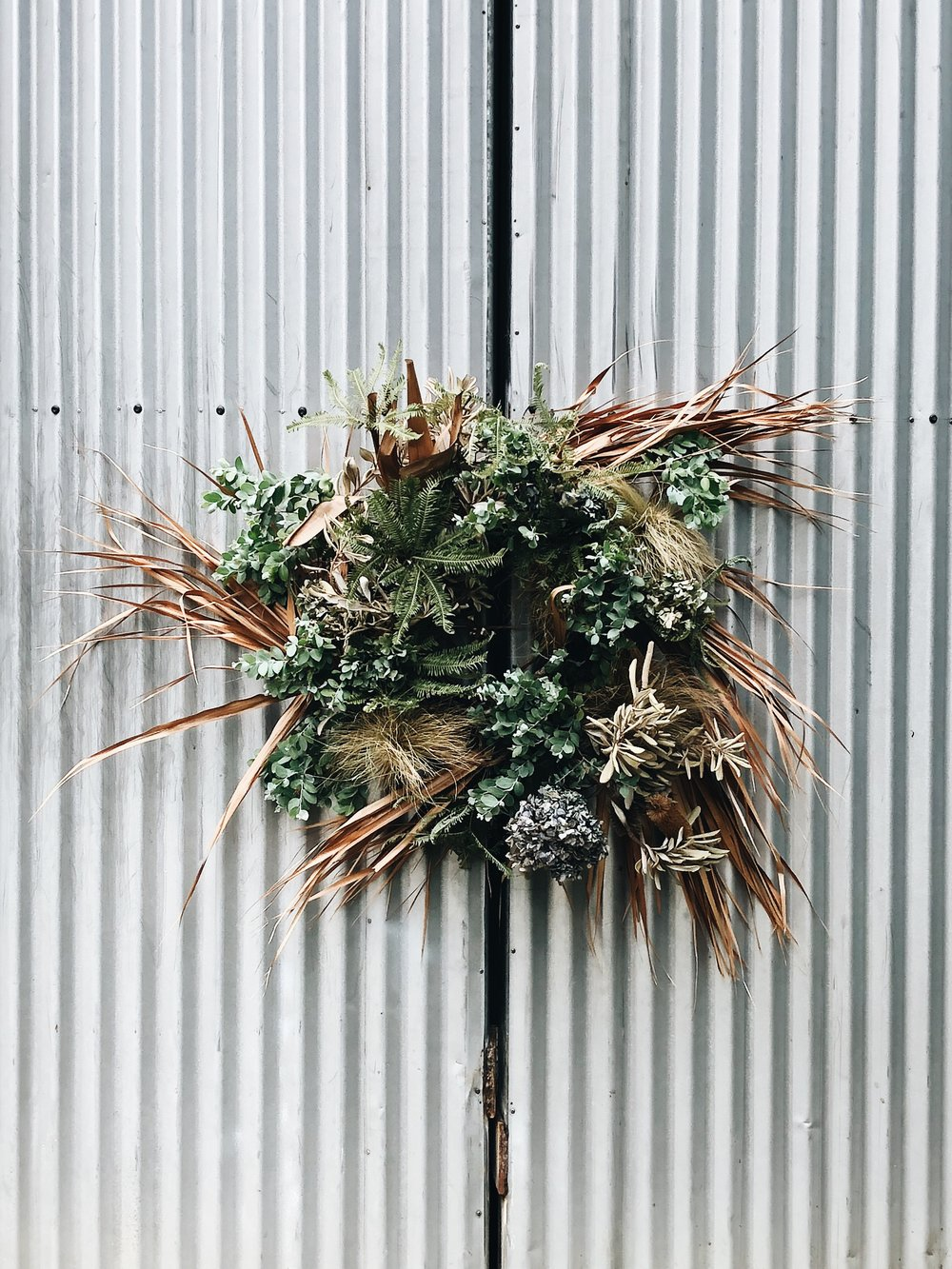 Foraged Wreath