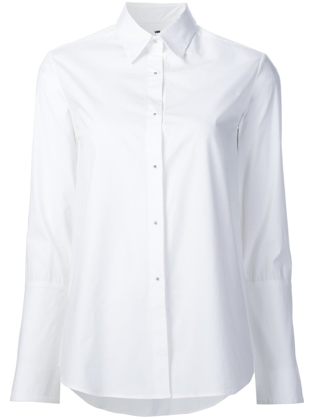 4. the white shirt - A classic, verstatile buy.