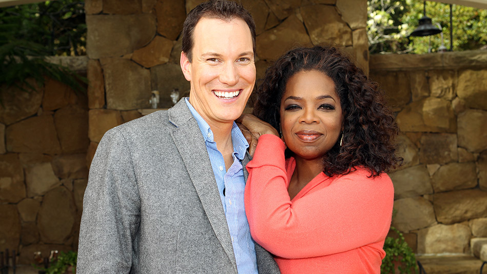 Shawn Achor and Oprah Winfrey. Source: Oprah.com