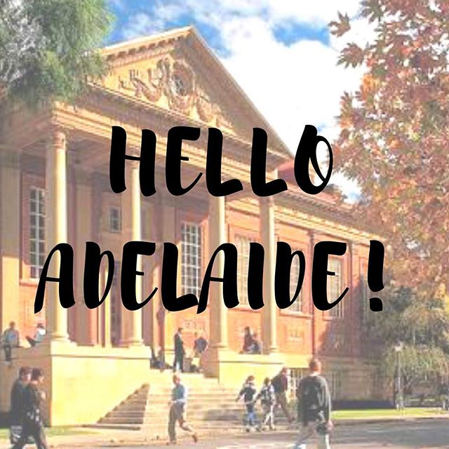 Adelaide! We're coming to you! Navigator Founder Stefani and board member Hannah will be coming to University of #Adelaide for some workshops on August 31st and September 1st! Come along and meet us to get some great #advice on your #career!