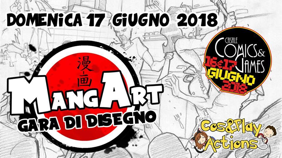 MANGART@casalecomics&games!